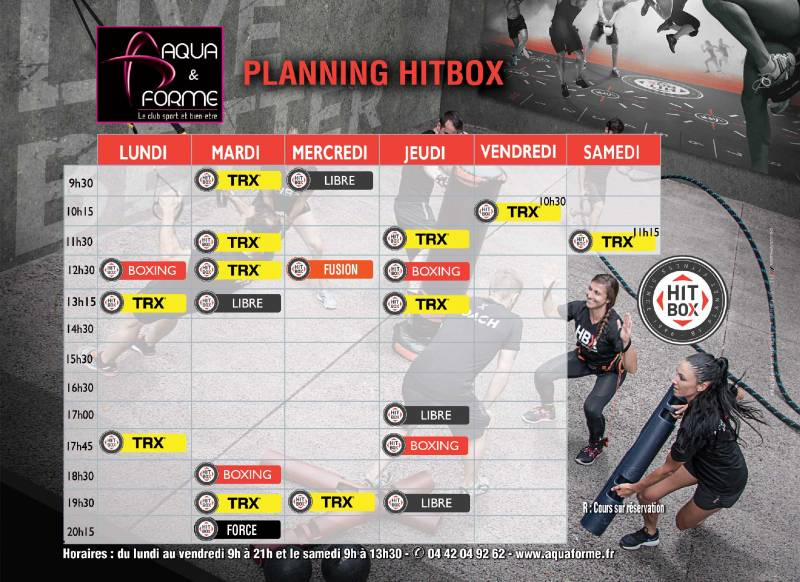 HIIT box : TRX et Cross Cardio